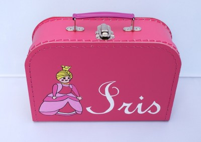 Koffertje met naam Iris