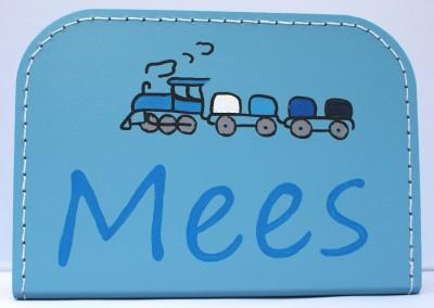 Koffertje met naam Mees