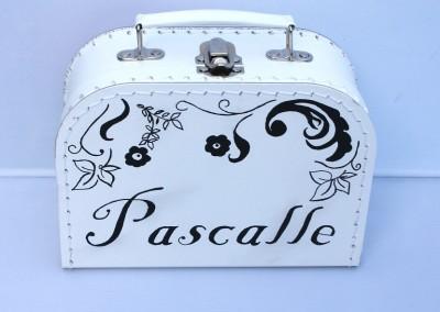 Koffertje met naam Pascalle