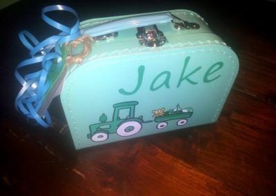 Koffertje met naam Jake
