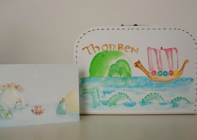Koffertje met naam Thorben