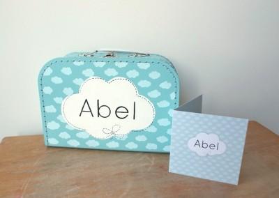 Geboortekoffertje Abel