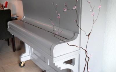 Piano op maat beschilderd