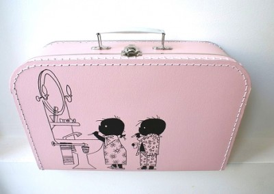 Logeer koffertje Jip en Janneke