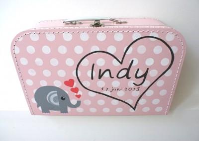 Geboortekoffertje Indy
