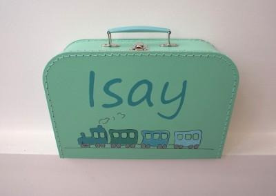 Koffertje met naam Isay