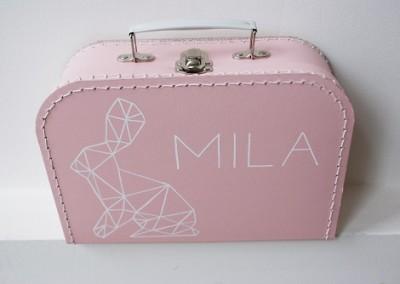 Geboortekoffertje Mila konijntje