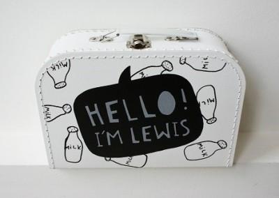 Geboortekoffertje Lewis