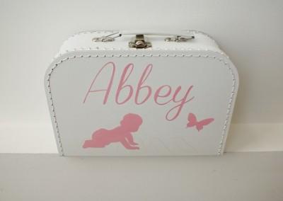 Geboortekoffertje Abbey