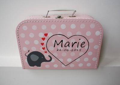 Geboortekoffertje Marie